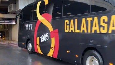 Son dakika spor haberi: Galatasaray stada geldi