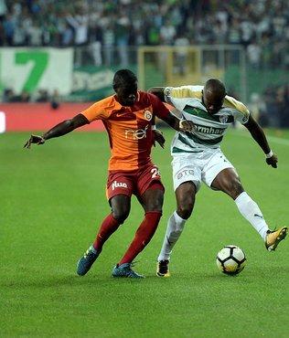 Bursaspor ilk 4'e diş geçiremedi