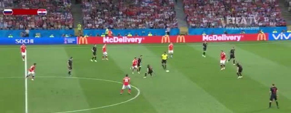 Hırvatistan, Rusya'yı penaltılar sonucunda 4-3 yendi ve yarı finale  yükseldi (GENİŞ ÖZET İZLE)