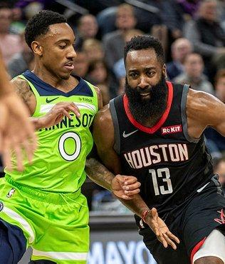 James Harden 49 sayı attı Rockets üst üste 7. galibiyetini aldı