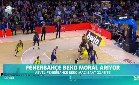 Fenerbahçe Beko moral arıyor
