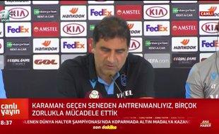 Ünal Karaman'dan sakatlık açıklaması!