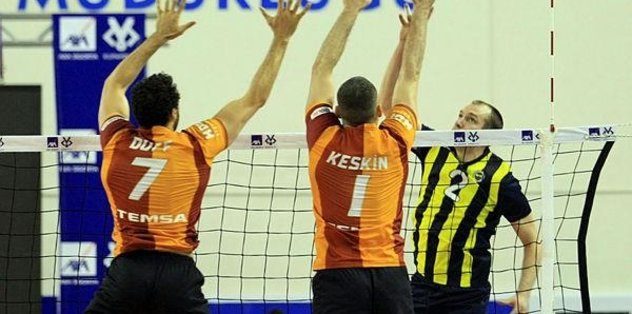 Voleybol'da Türkiye Kupası Fenerbahçe'nin!