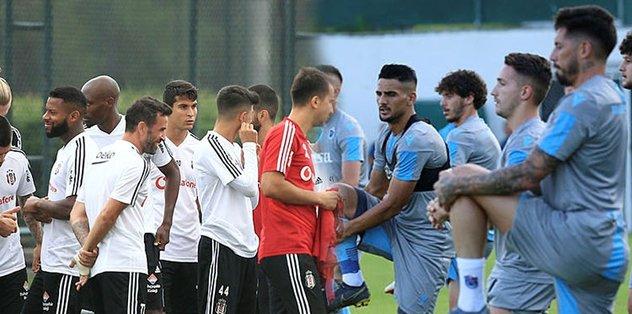Beşiktaş ve Trabzonspor'un 28 kişilik listesi belli oldu