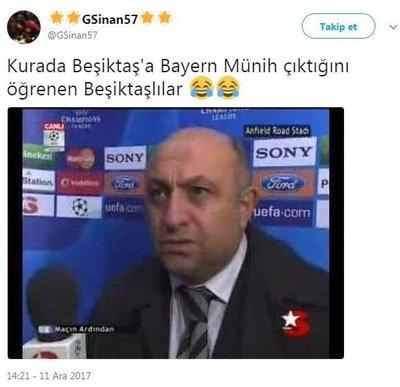 Bayern Münih eşleşmesi sonrası sosyal medya yıkıldı