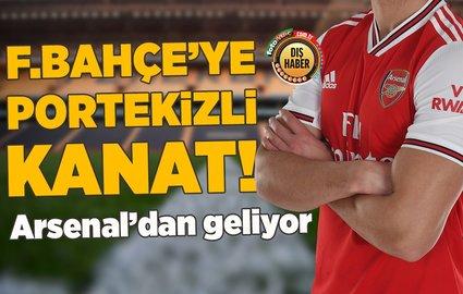 F.Bahçe'ye Portekizli kanat! Arsenal'dan geliyor