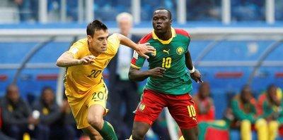Aboubakar saç baş yoldurttu!
