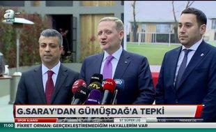 Galatasaray'dan Göksel Gümüşdağ'a tepki