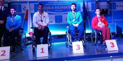 Bursalı Hakan Akkaya Dünya Şampiyonu