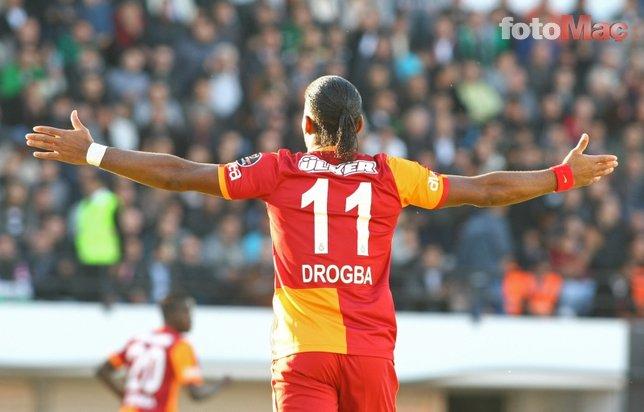 Drogba: Galatasaray'a hoca olmak istiyorum!
