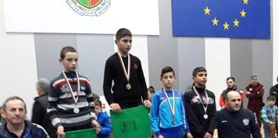Edirne Belediyesi pehlivanlarından bir başarı daha