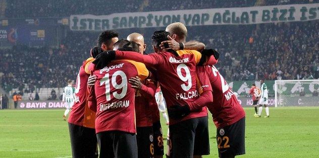 Konyaspor 0-3 Galatasaray   MAÇ SONUCU