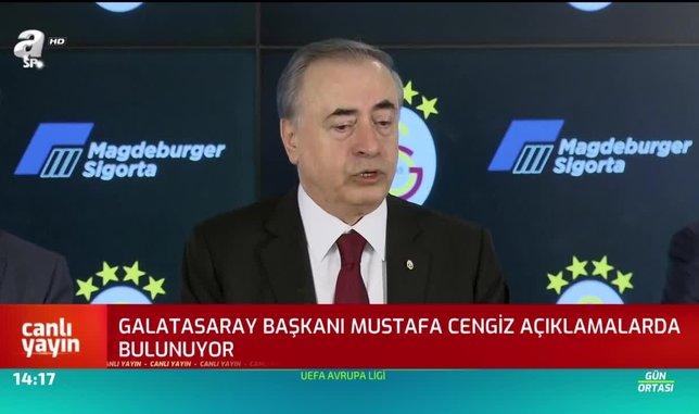 Mustafa Cengiz'den Ali Koç'a cevap: Bize saldıran olursa...