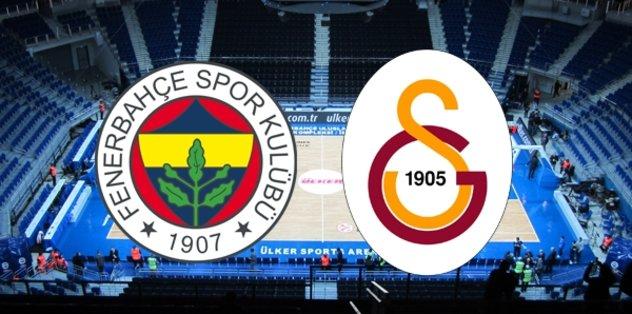 Potada derbi heyecanı! Fenerbahçe - Galatasaray...