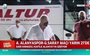 Galatasaray kafilesi Alanya yolcusu! Sakatların durumu...