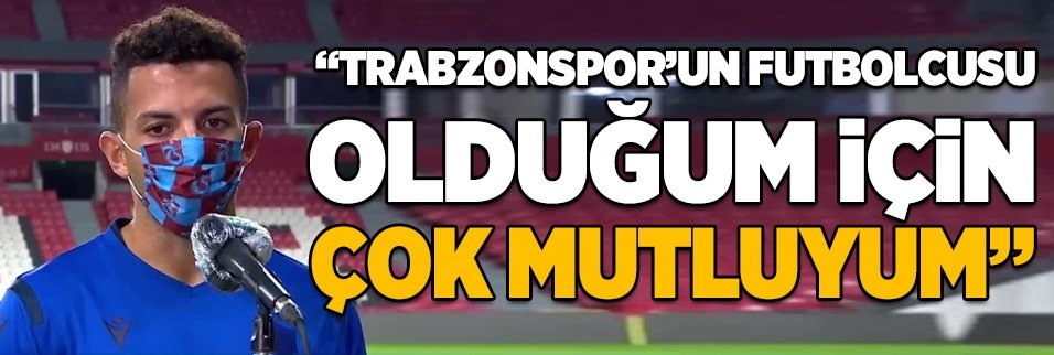 flavio trabzonsporun futbolcusu oldugum icin mutluyum 1598727250364 - Süper Lig'in en değerlisi Trabzonspor!