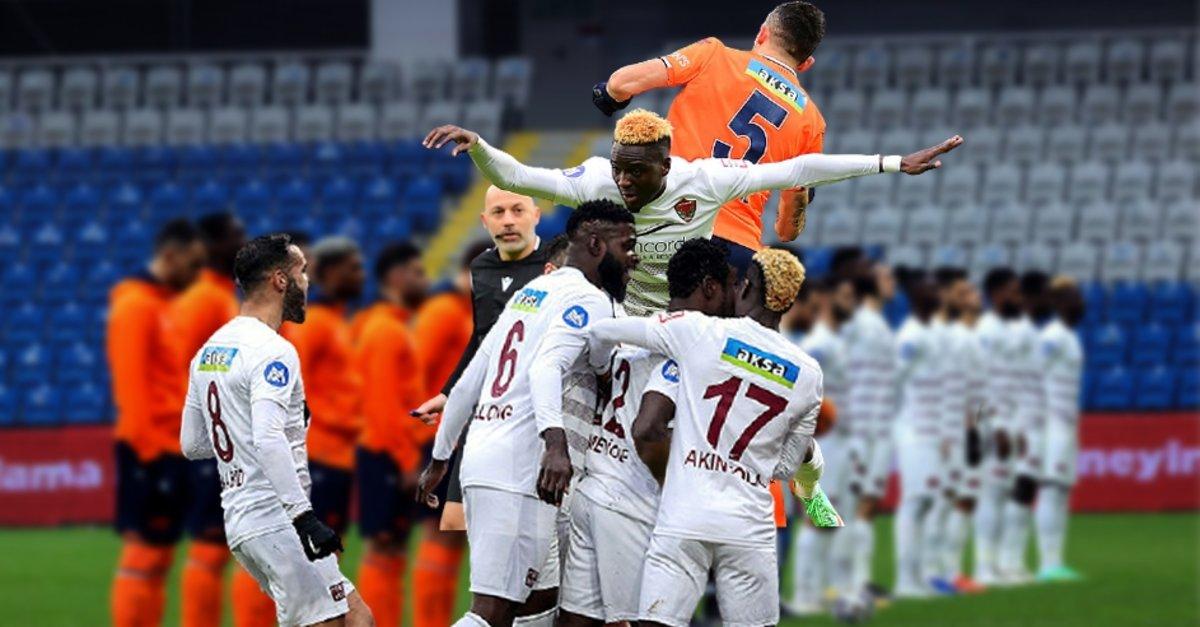 Başakşehir-Hatayspor: 1-5 (MAÇ SONUCU-ÖZET) - Fotomaç