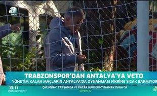 Trabzonspor'un gündeminde Antalya yok