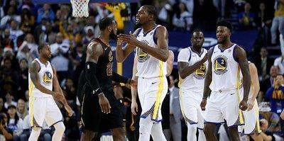 Warriors, Cavaliers'ı devirdi