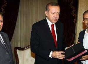 Alex de Souza Başbakan Erdoğanı ziyaret etti