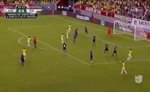James Rodriguez'den dudak uçuklatan gol!