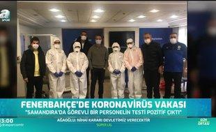 Fenerbahçe'de corona virüsü vakası