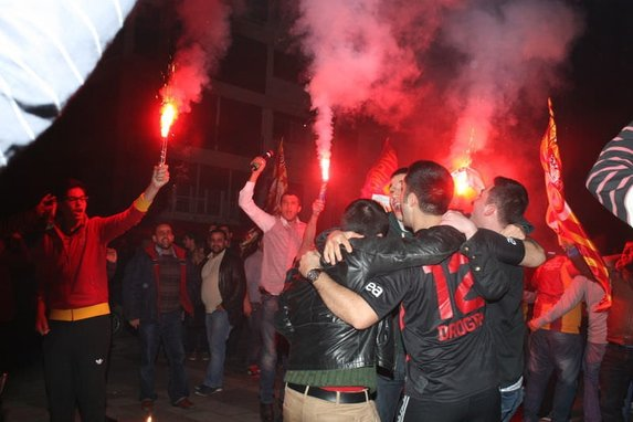 İşte Galatasaray'ın maçtan sonra soyunma odası