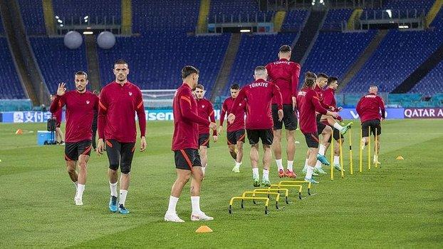 Son dakika spor haberleri: A Milli Takım EURO 2020'deki İtalya maçına hazır