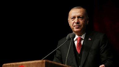 Son dakika spor haberleri: Başkan Recep Tayyip Erdoğan'danAnadolu Efes'e tebrik