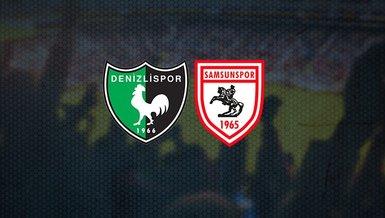 Denizlispor Samsunspor maçı ne zaman? Saat kaçta ve hangi kanalda CANLI yayınlanacak?