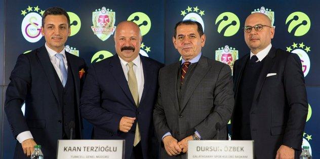 Galatasaray ile Turkcell anlaşması yapıldı
