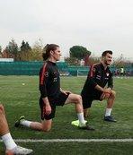 Ümit Milli Futbol Takımı Andorra maçı hazırlıklarını sürdürdü