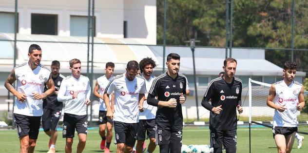 Beşiktaş'ta Yeni Malatyaspor mesaisi sürüyor! - Futbol -