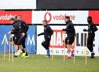 Beşiktaş'ta Erzurumspor maçı hazırlıklarını sürdürdü