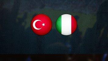 Türkiye - İtalya | CANLI