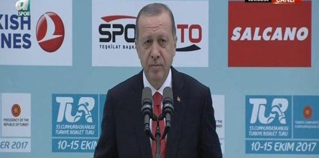 ''SPORA VERDİĞİMİZ DESTEK SÜRECEK''