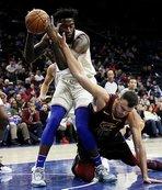 NBA'de Furkan'ın ekibi 76ers Cedi'nin takımı Cavaliers'ı mağlup etti