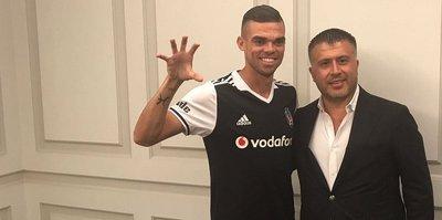 Pepe resmen Beşiktaş'ta