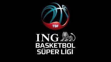 ING Basketbol Süper Ligi'nin maç programı açıklandı