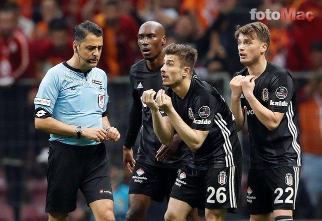 Beşiktaş'tan flaş hakem hamlesi: Gelecek sezon...