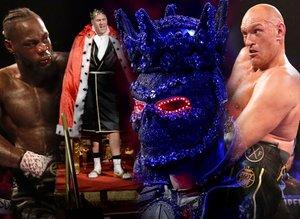 Tyson Fury'den sansasyonel galibiyet! Wilder'ı dağıttı