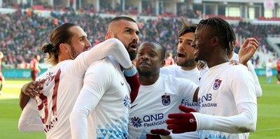 Trabzon'da tek hedef 3 puan