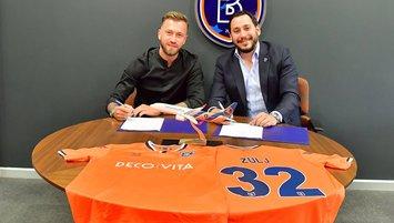 Başakşehir Zulj ile 3 yıllık sözleşme imzaladı