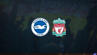 Brighton - Liverpool maçı ne zaman, saat kaçta ve hangi kanalda canlı yayınlanacak?   İngiltere Premier Lig