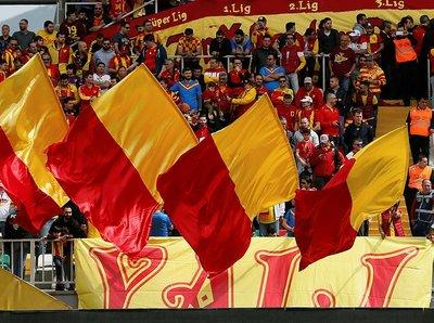 Göztepe - Kasımpaşa maçından kareler (1 Nisan Pazar)