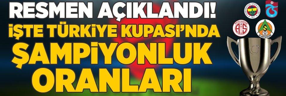 resmen aciklandi iste turkiye kupasinda sampiyonluk oranlari 1592220558230 - Son dakika: Şampiyonluk oranları güncellendi! Trabzonspor...