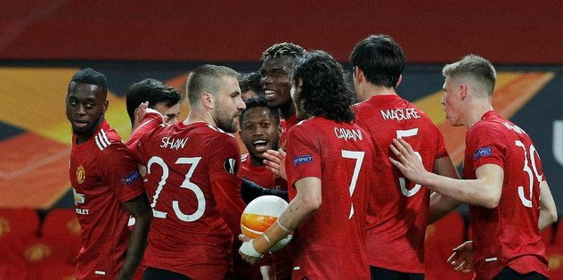 Manchester United - Roma: 6-2 MAÇ SONUCU - ÖZET | UEFA Avrupa Ligi