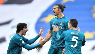 39'luk Zlatan Ibrahimovic gollere devam! Udinese 1-2 Milan   MAÇ SONUCU
