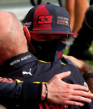 F1 Büyük Britanya Grand Prix'sinde kazanan Max Verstappen!