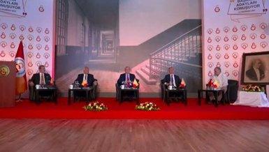 Galatasaray başkan adayları Metin Öztürk, İbrahim Özdemir, Eşref Hamamcıoğlu ve Burak Elmas canlı yayında konuştu